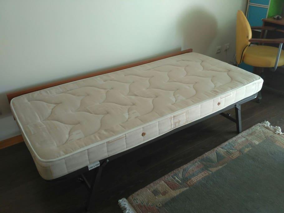 Uma das camas.