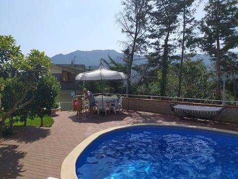 BLUE - Quiet place near Salerno, Pompeii & Amalfi