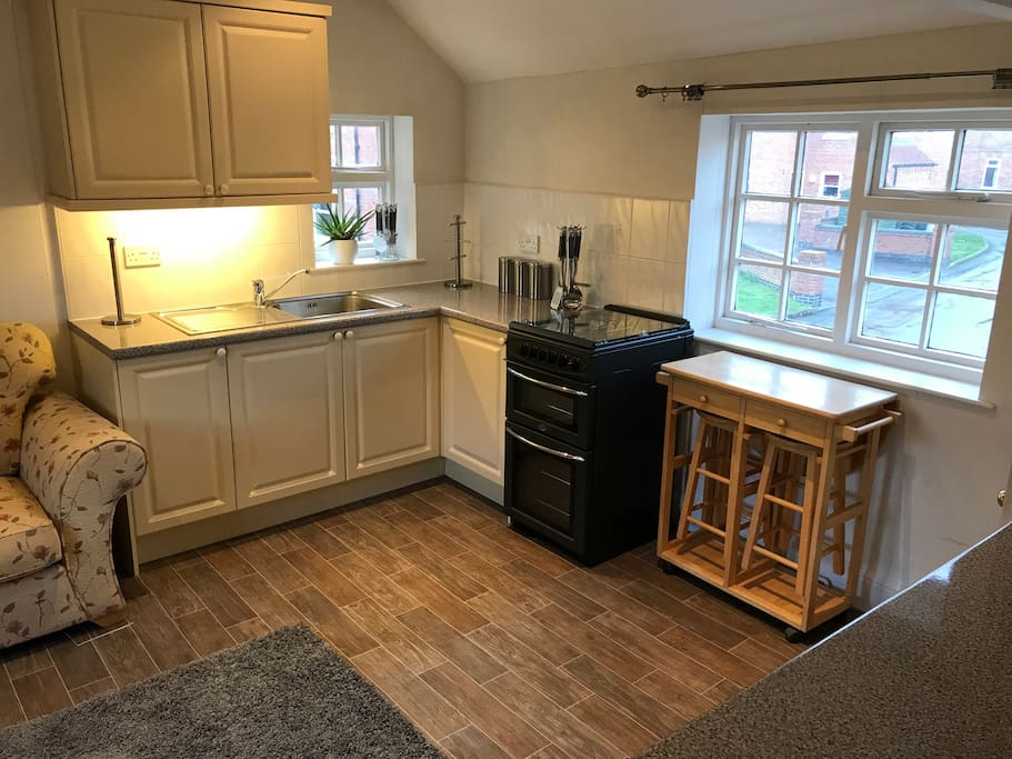 Fully appointed, self catering kitchen