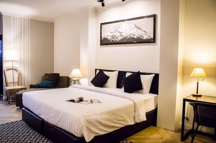 YUU HOTEL @ UBONRATCHATANI-VIP Double Room - Ubon Ratchathani - Boutique-hotell