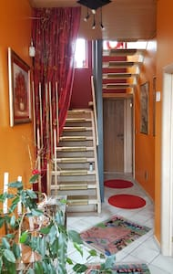 LOFT FENG SHUI DANS MAISON - Chapelle-lez-Herlaimont - Casa