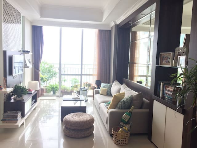 Cozy & Spacious One Bed Apartment in Kuningan Area - Dżakarta Południowa - Apartament