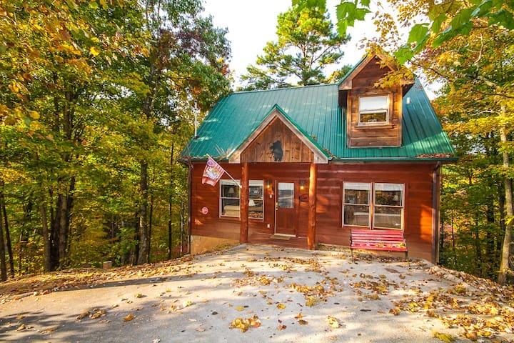 Little bear lodge cabin cabins for rent in sevierville for Little bear cabin in gatlinburg tn