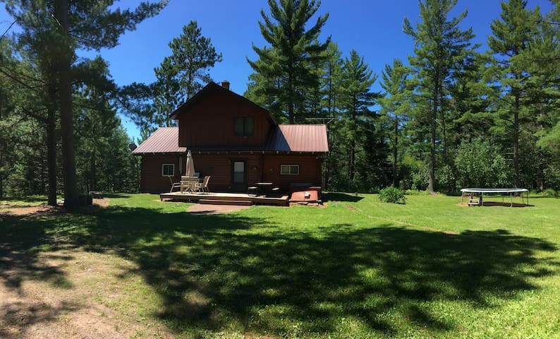 All Season Vacation Home in Western UP - Trout Creek