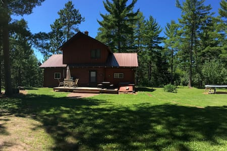 7 acre 3 Bedroom 2 Bath secluded cabin in the UP