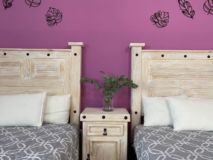 ⑥Hab 2 camas*𝗕𝗢𝗨𝗧𝗜𝗤𝗨𝗘*Plaza de Armas