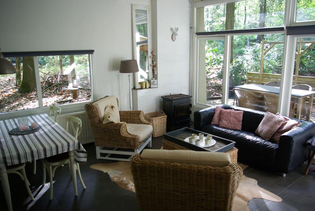 sfeervolle woonkamer