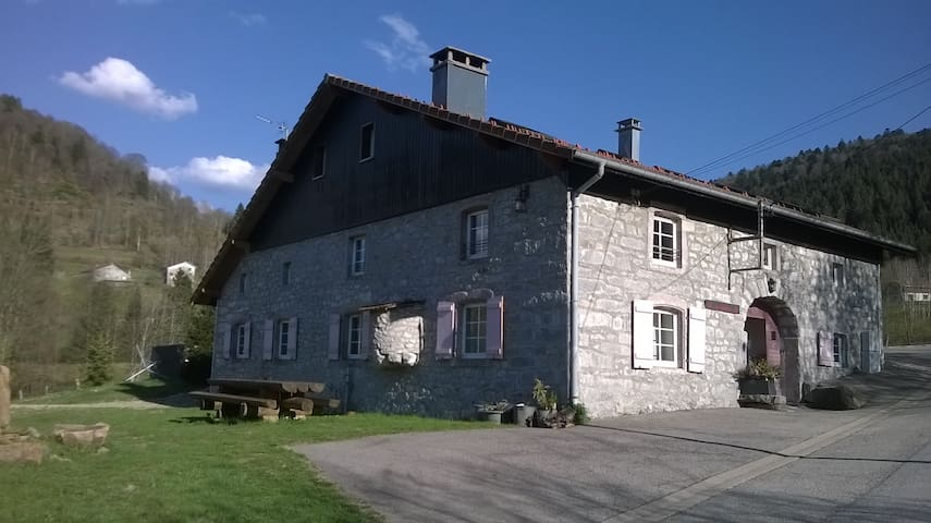 Cottage Alisiers heart of nature Vosges 14 pax - Ventron - Casa