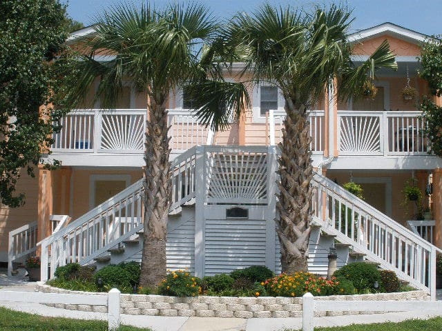 Neptune Villas Unit #2 (Ground Floor) - Murrells Inlet - Apartment