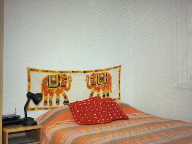 bedroom accommodation in Kristianst - 克里斯蒂安斯塔德 - Apartment