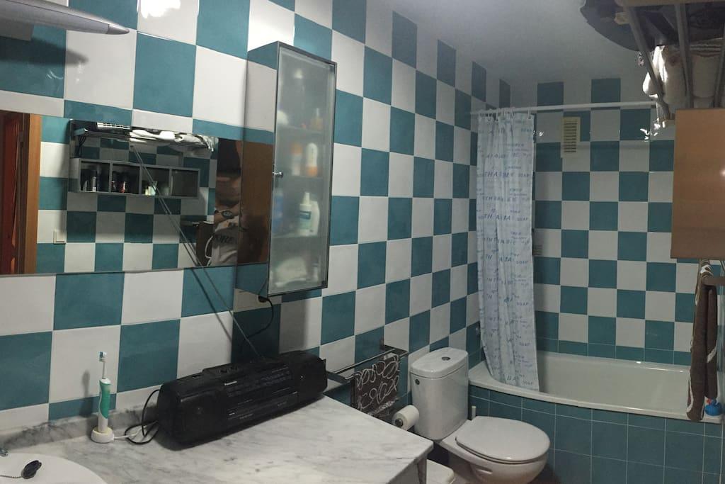 WC completo y amplio