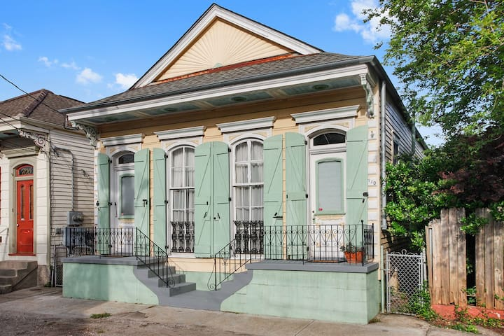 Sunny, historic home in Bywater - New Orleans - Apartmen