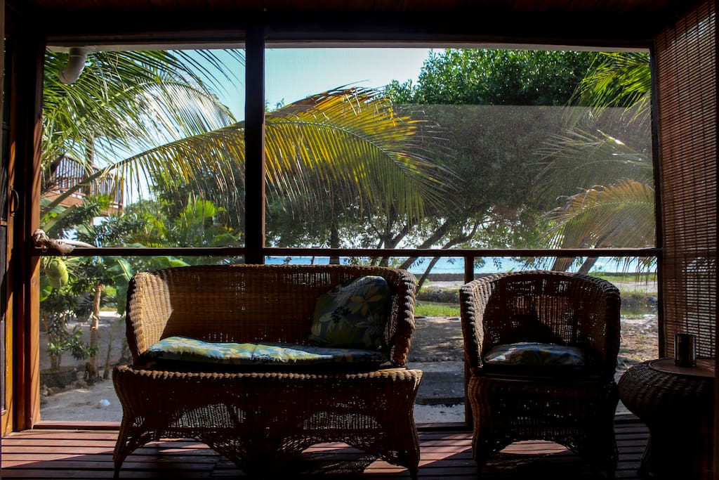 Views of the ocean while you sit and listen to the waves from your own private terrace.