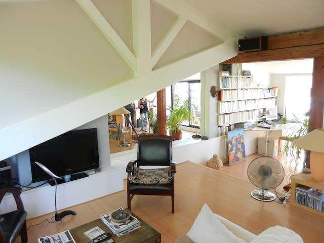 Loft, terrasse avec vue sur Toulouse