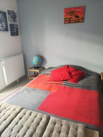 Studio privatif dans appartement en duplex