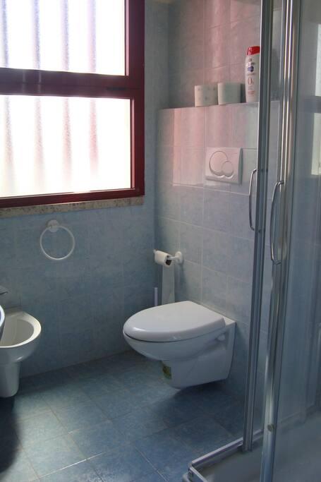 Esempio bagno con doccia