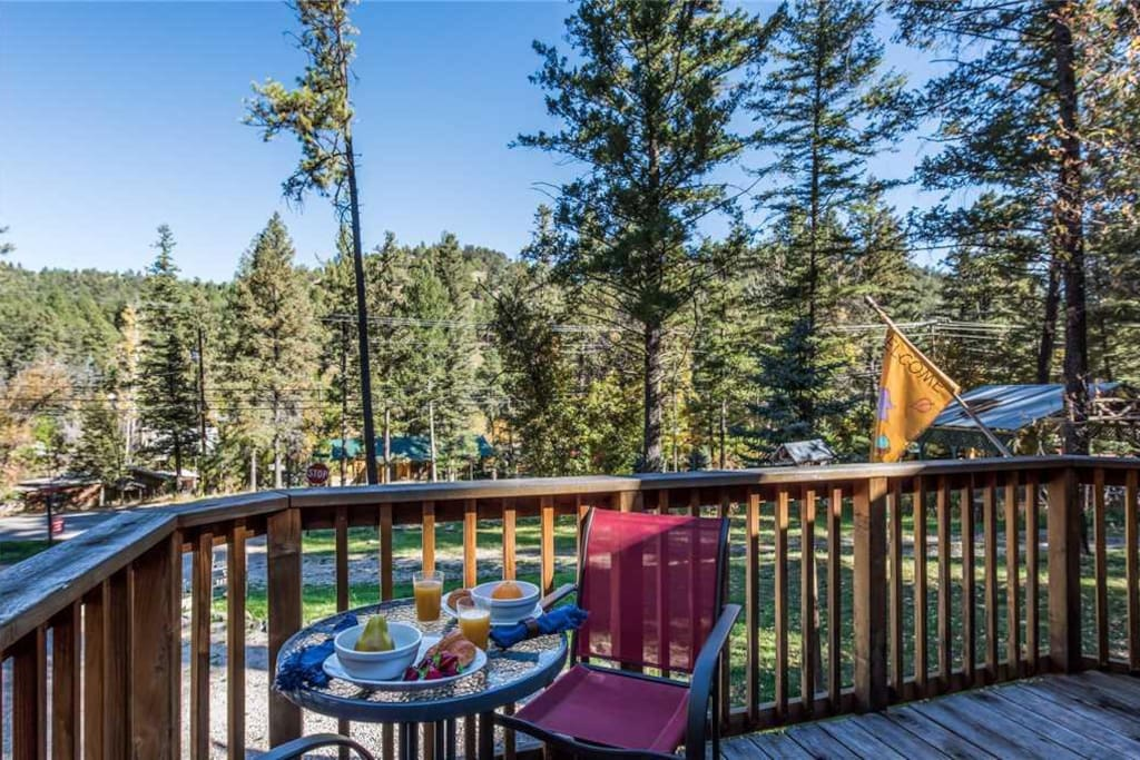 Views from the Deck - Enjoy a nightcap under the stars before turning in, and wake up to sunshine, soft breezes, and chirping bir