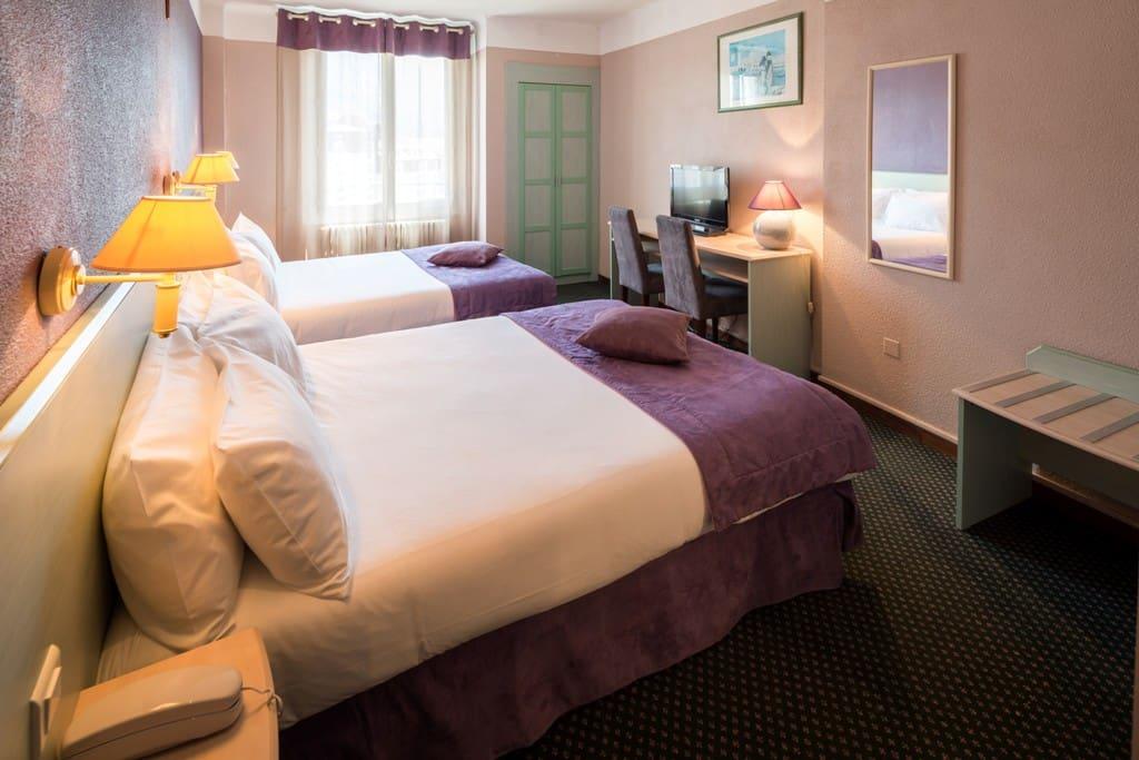 chambre familiale 2 grand lits