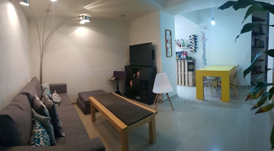 Habitación privada a 5 mins de Polanco con alberca
