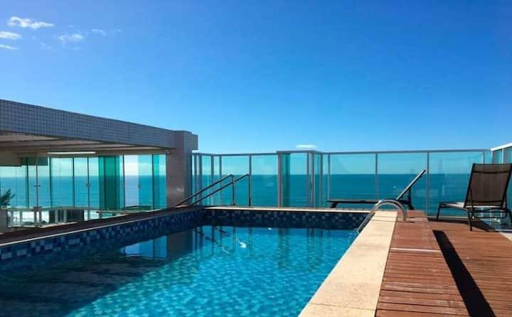 Apartamento Praia Brava com vista mar!