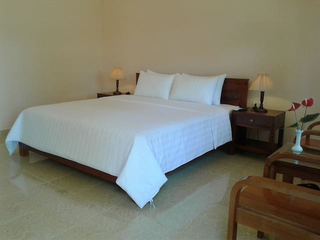 Clean and comfortable rooms are very important for us.