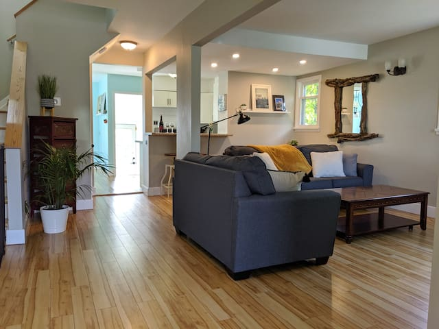 Bright & Spacious Home Near Downtown and Shopping