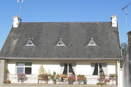 logement accueillant et lumineux  a l etage - Pédernec - Appartamento