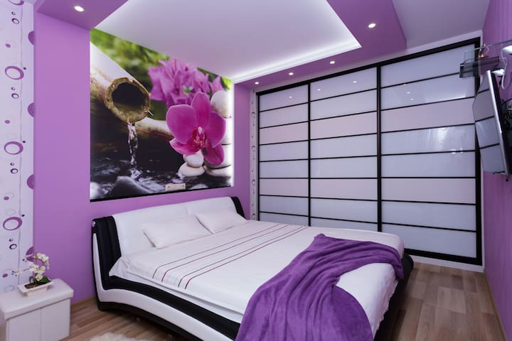luxury apartments, center, 2 bedroom+1 livingroom