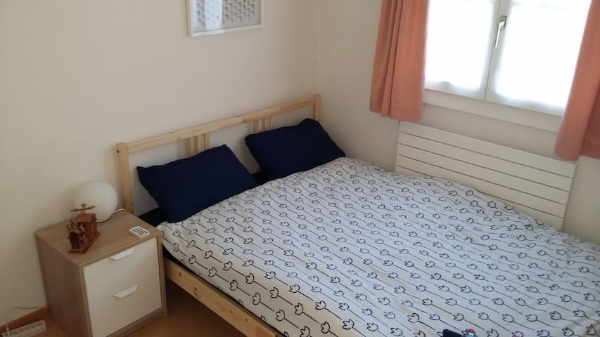Very small room in a modern house - Grand-Lancy - Hus