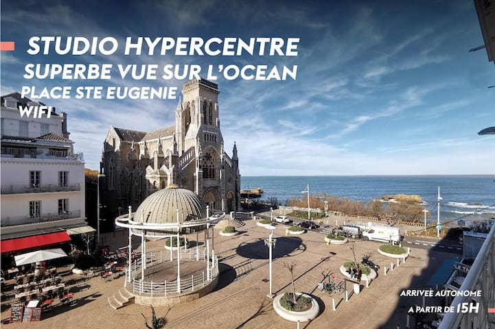 HYPERCENTER STUDIO - OCEAN AND CATHEDRAL VIEW