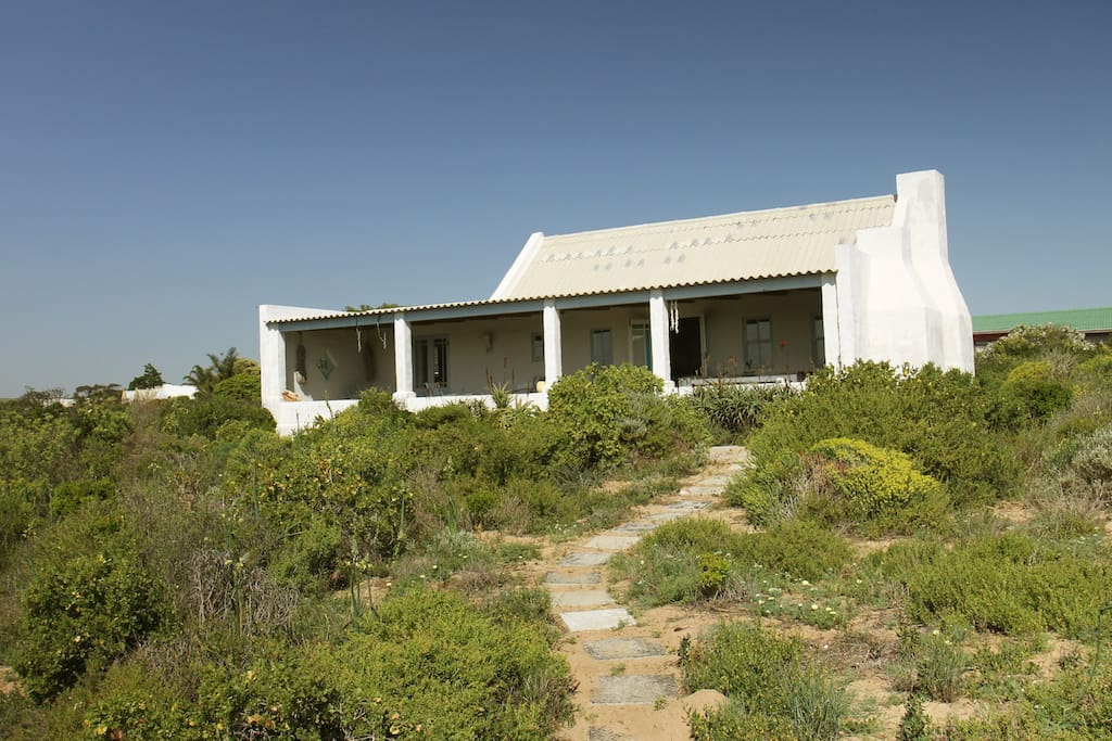 House is situated on the largest plot in Lamberts bay
