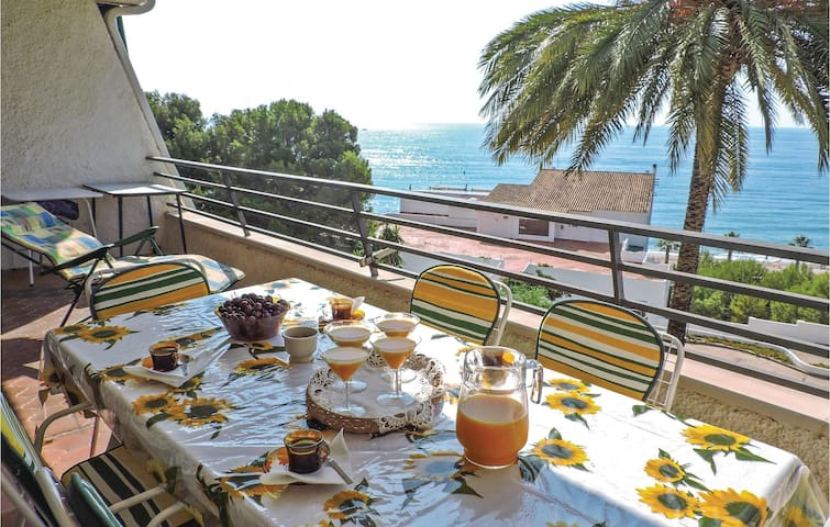 Holiday apartment with 2 bedrooms on 55m² in Miami Platja