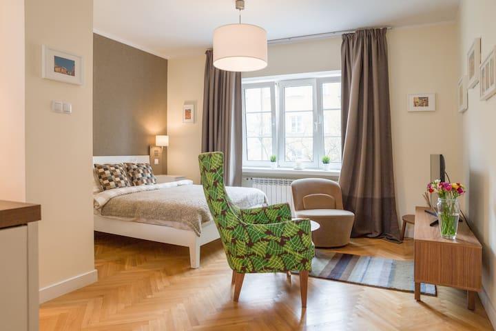 Julia's Apartments-Warsaw Old Town,Rycerska Studio - Warszawa - Leilighet