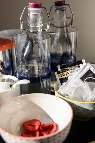 Tea/coffee making facilities in your room