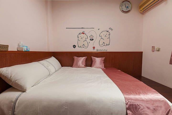 原宿行館招待所-向山四人房      讓旅行是一件溫馨充滿人情味旅宿! - Xiulin Township - Haus