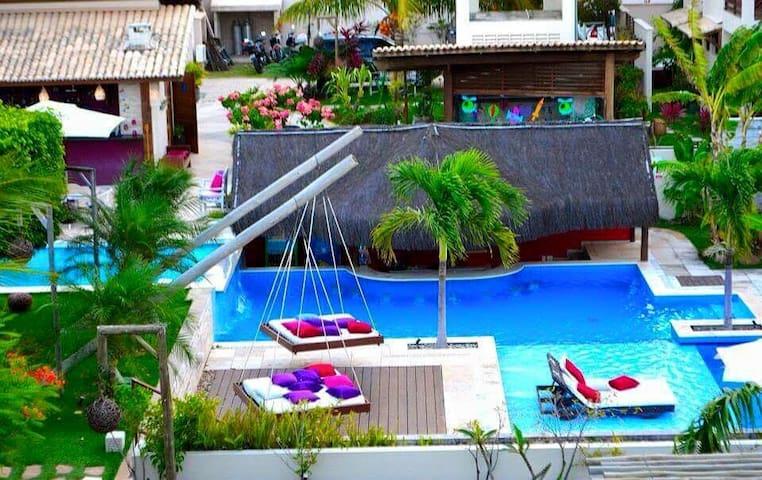 A22 Apt. no condomínio Pipa Beleza Spa Resort - Pipa Beach - Apartmen