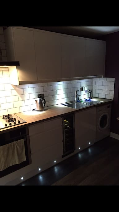 Kitchen facilities for use