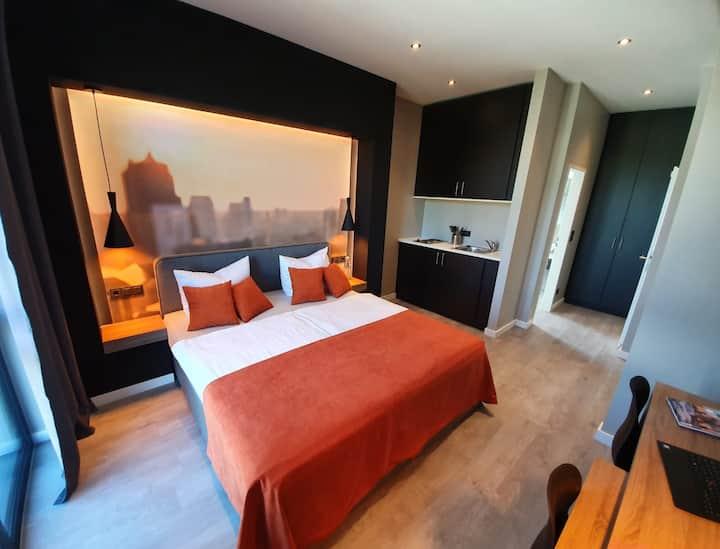 JustStay Hotel Düsseldorf/Ratingen Doppelzimmer