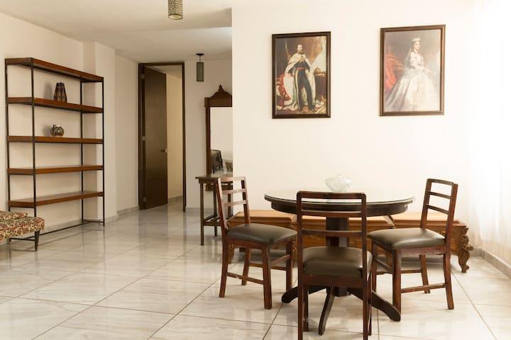 Departamento en centrica ubicación en Queretaro.