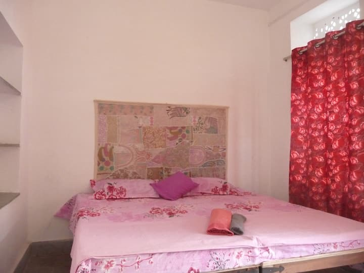 PINK ROOM IN YOGA JOURNEY HOUSE