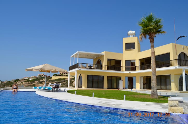 Two bedroom secluded private villa with sea views