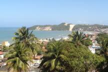 Vista da praia de Ponta Negra