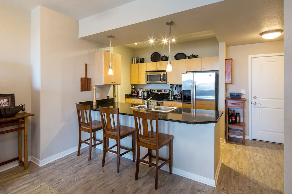 Fully appointed kitchen!