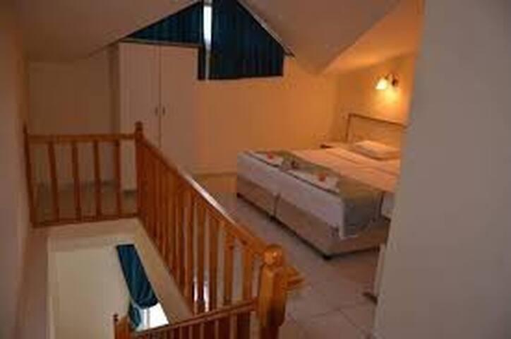 İçmeler Prestij Apart, 1+1 Dublex Apart Odaları
