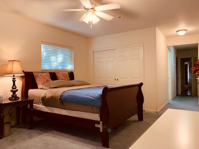 Big MASTER Bedroom with Private Bathroom By Macy