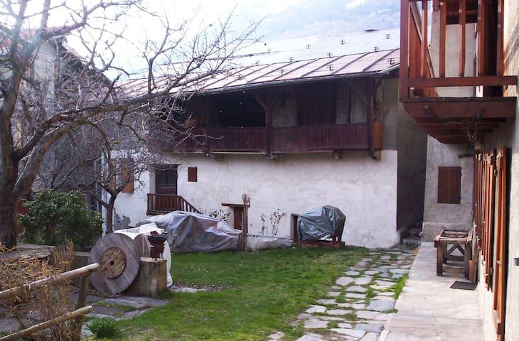 Maison de village - La Côte-d'Aime - Casa