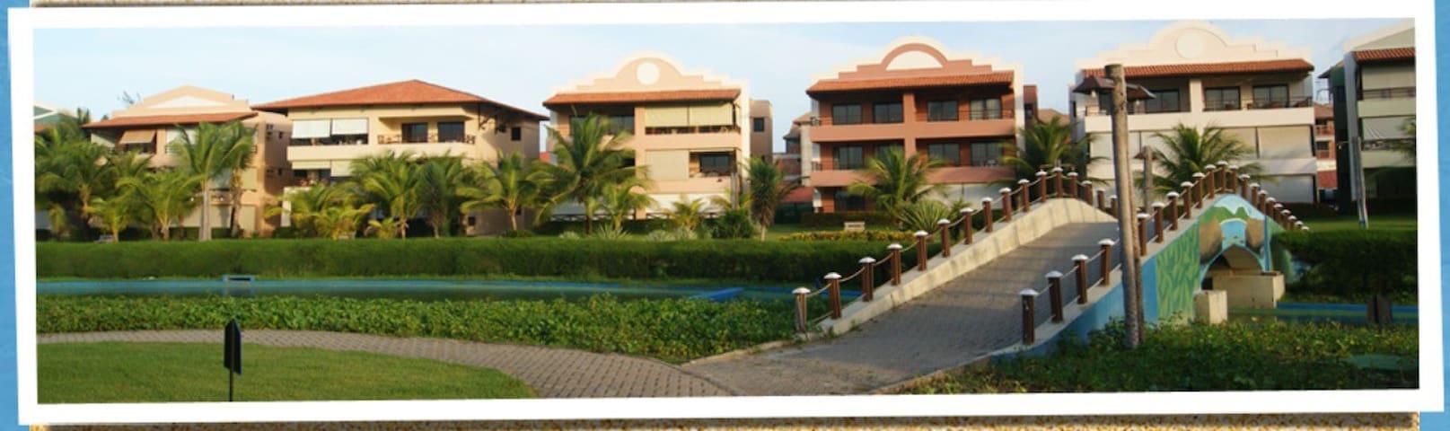 Apartamento Resort Aquaville - Fortaleza - Apartamento