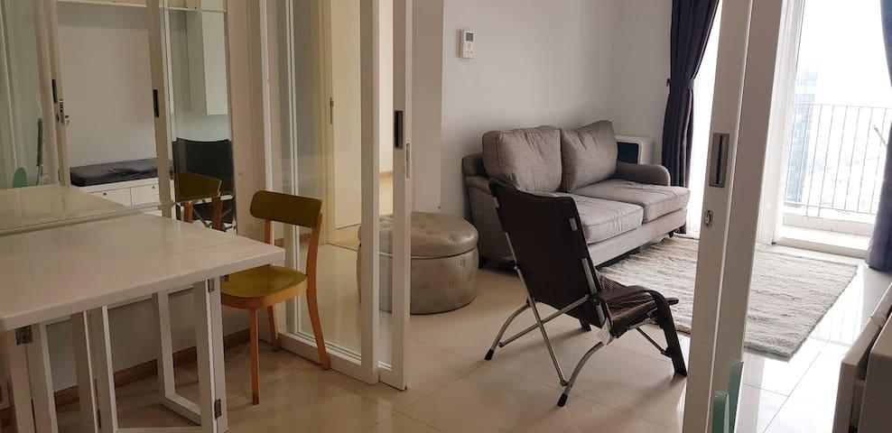 Cozy 2br apartment near mall (kokas) CBD