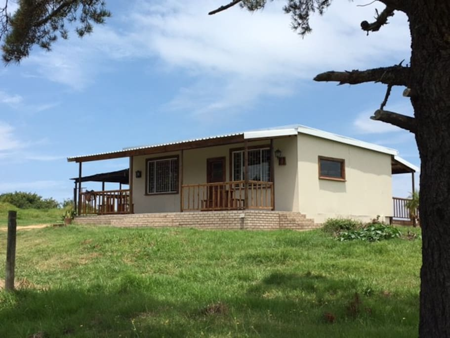 Rustic stand alone farm cottage newly renovated on 10 hetares