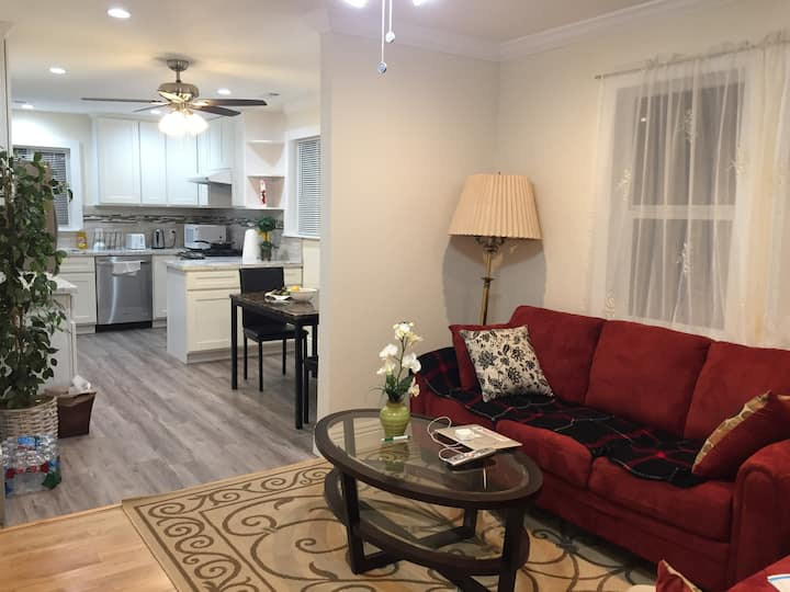 Newly Remodeled Sunny Room at convenient location